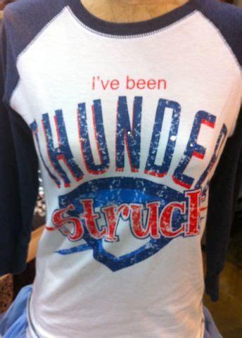 Kevin Durant Raglan thunderstruck thunder fan raglan thunder okc oklahoma
