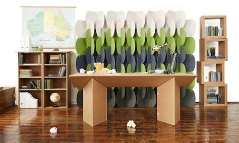 arredamento eco ufficio eco sostenibile i mobili in cartone 187 officebit
