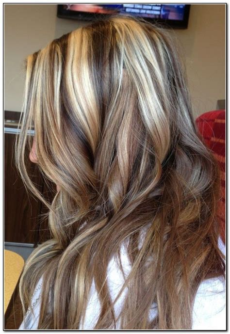 high and low highlights for hair pictures brown highlight and low lighted hair pictures brown hair