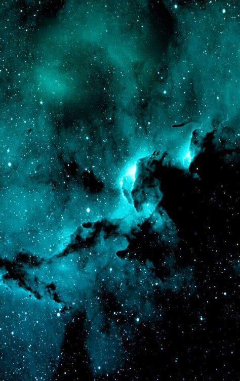 blue nebula galaxy art nebula galaxy background