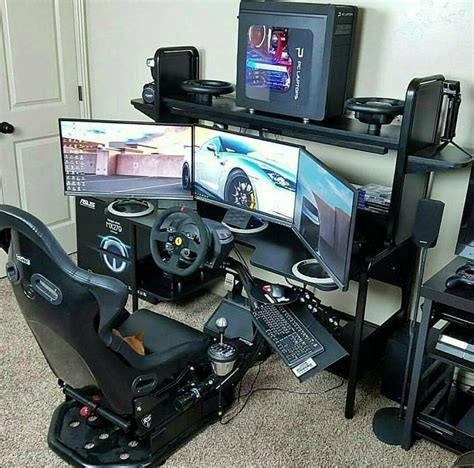 racing simulator diy setup racing simulators pinterest