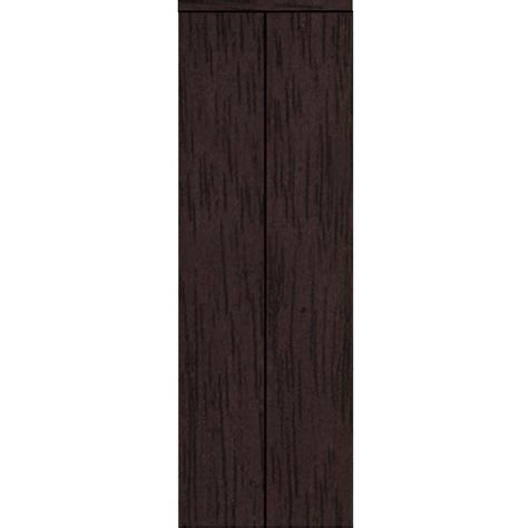 Impact Plus Closet Doors Impact Plus 30 In X 80 In Smooth Flush Solid Espresso Mdf Interior Closet Bi Fold Door