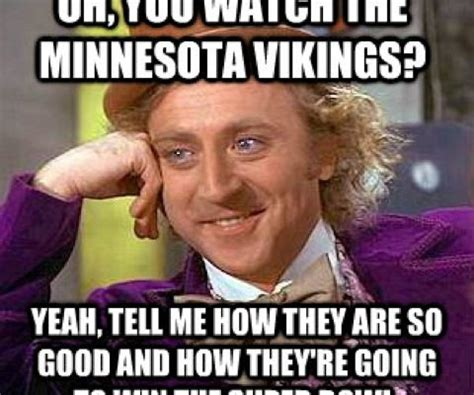 Vikings Suck Meme - get to know the enemy minnesota vikings preview