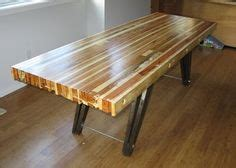 kitchen table ideas on wood scraps benches