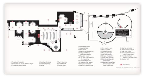 floor plan museum mary kay museum museum highlights