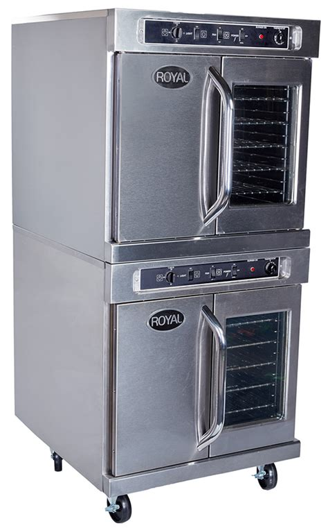Oven Signora New Royal electric convection ovens standard depth royal range of california