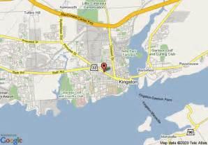 map of rest inn kingston