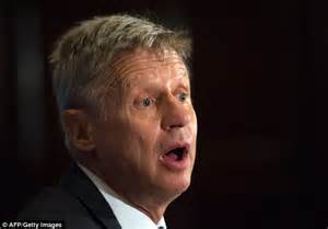 gary johnson wants libertarian candidate gary johnson says he d lose no