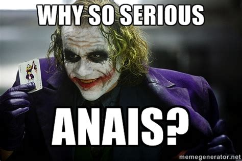 Why So Serious Meme - joker why so serious meme generator image memes at