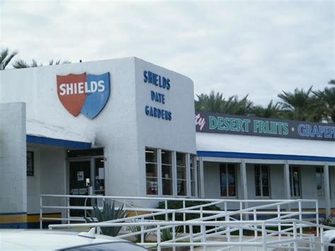 Shields Date Gardens by Tree Getting Ready For The Holidays Picture Of