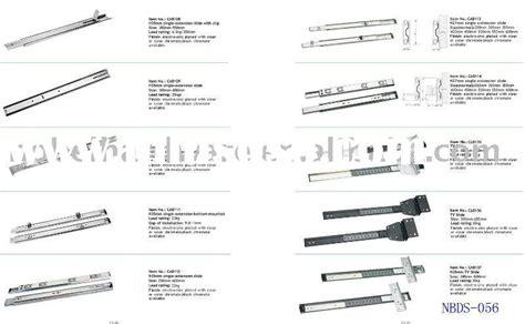 types of ball bearing drawer slides drawer slide types of drawer slides