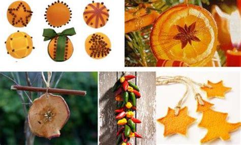 rodajas arbol manualidades adornos de navidad con frutas remedios caseros net