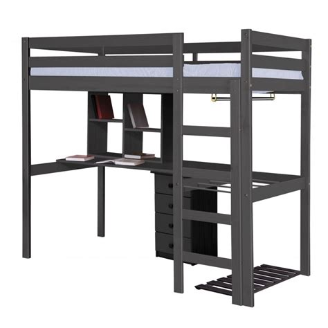 High Sleeper Bed Frames Rimini Highsleeper Bed In Solid Pine Available As Set With Furniture
