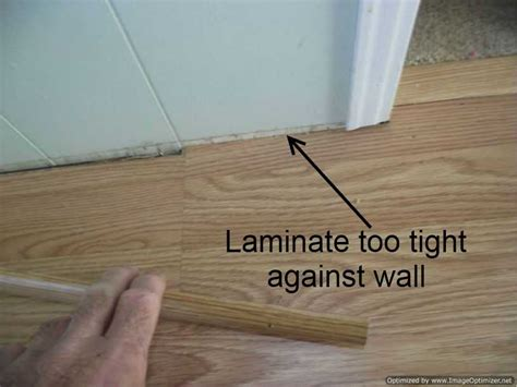 Bad Laminate Installation, Repair