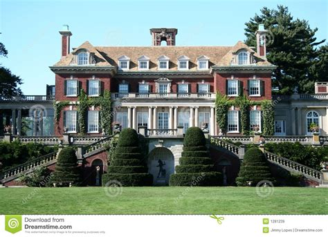 Antebellum Style House Plans expensive mansion royalty free stock images image 1281239