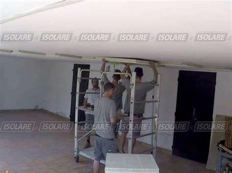 isolamento termico soffitto garage coibentazione soffitto di androni garages piano pilotis