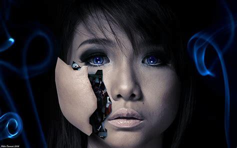 wallpaper android girl android girl original v2 by peterkoevari on deviantart