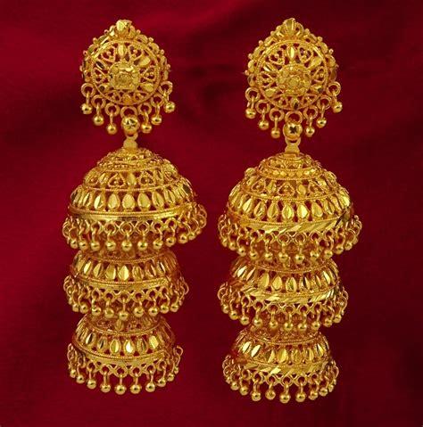 earrings designs in gold jhumka gold jhumka earring