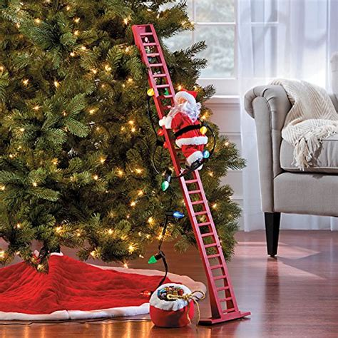climbing santa ladder christmas decoration top 5 best ladder climbing santa for sale 2016 product boomsbeat