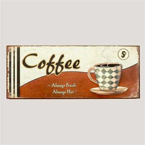 furniture home decor food wine gifts world market metal coffee cup sign world market