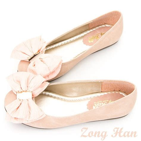Flatshoes Ribbon Ss0026 details about brand new womens ballerina ribbon toe flats shoes beige pink black flat