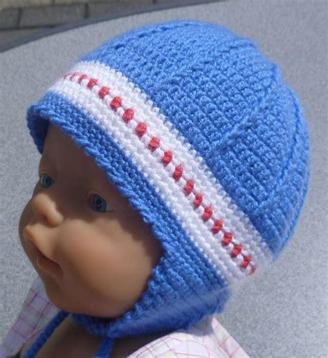 infant pattern video blue ear flap hat free crochet graph pattern crochet