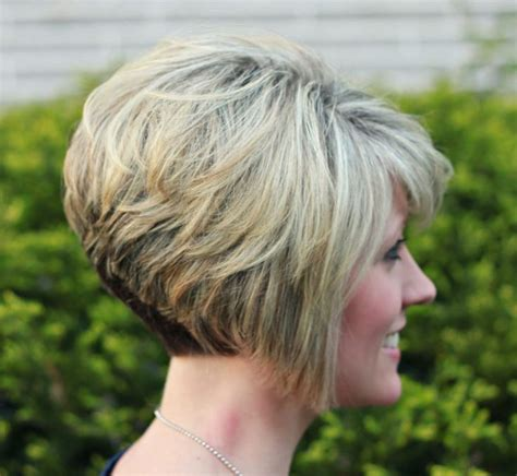 diy stacked bob short inverted bob i got my hair cut just like hers the