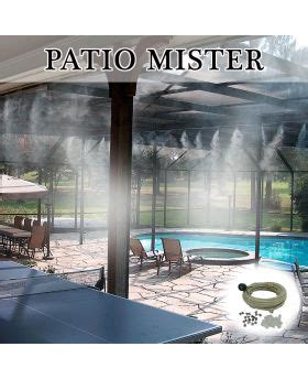 Patio Mister Parts by Top 25 Ideas About Residential Misting Systems On