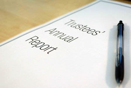Charity Commission Annual Report Template What To Include In The Trustees Annual Report Derby