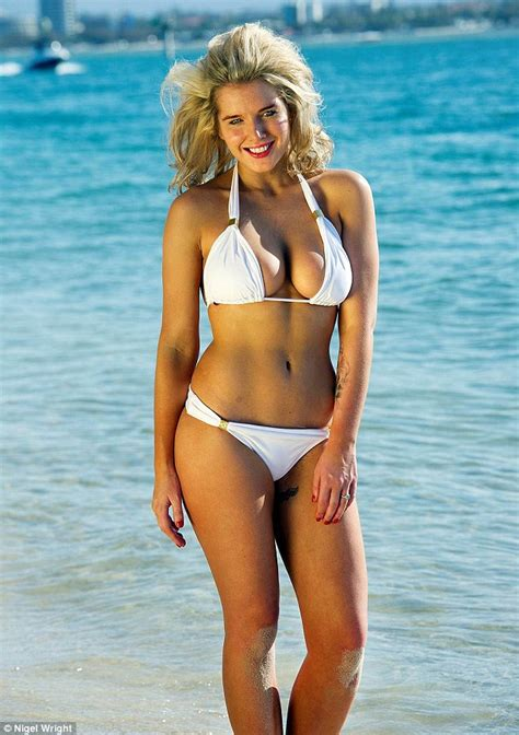 Gw Se 11 I Big Swimsuit new has spectacular wardrobe malfunction and helen flanagan shows figure