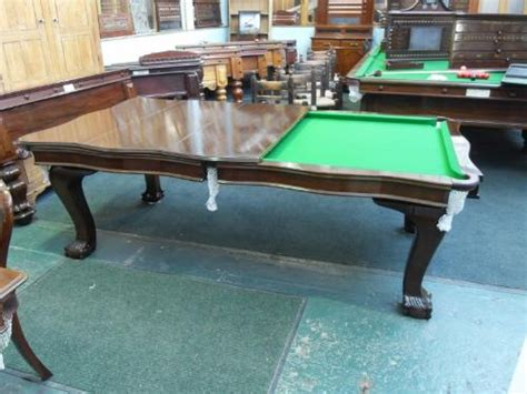 antique snooker dining table tradespace browns antiques