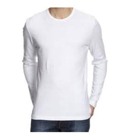 Size Pilihan Warna Lengan Panjang jual beli kaos polos lengan panjang xl size warna putih baru kaos baju t shirt pria