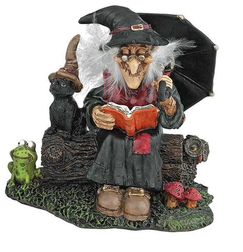 home decor figurines collectible witches statue sculpture figurine