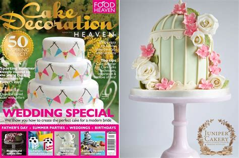 our floral birdcage cake in cake decoration heaven