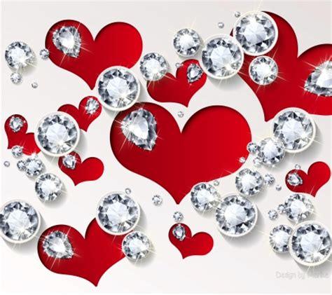 wallpaper  hearts  diamonds gallery