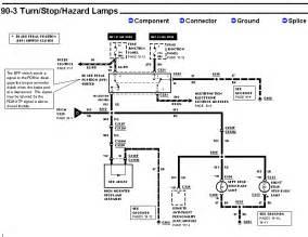 ford f550 brake light wiring diagram