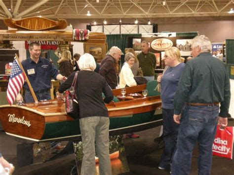 Minneapolis Cabin Show by Shows Budsin Wood Craft