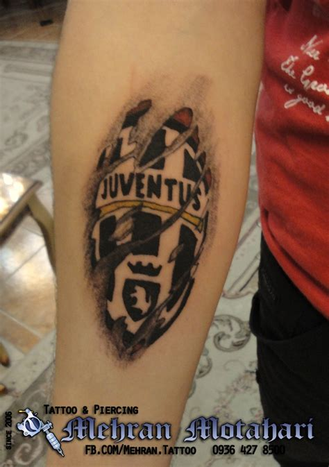 tattoo 3d barcelona juventus fc tattoo tattoo pinterest juventus fc and