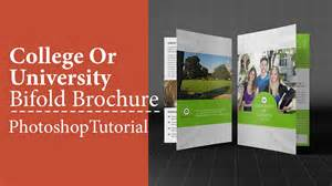 adobe photoshop brochure templates college or bifold brochure adobe photoshop