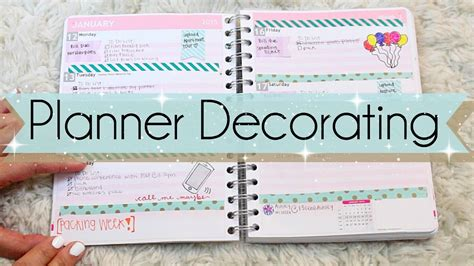 Decorate Planner by Planner Decorating For Beginners Jaaackjack
