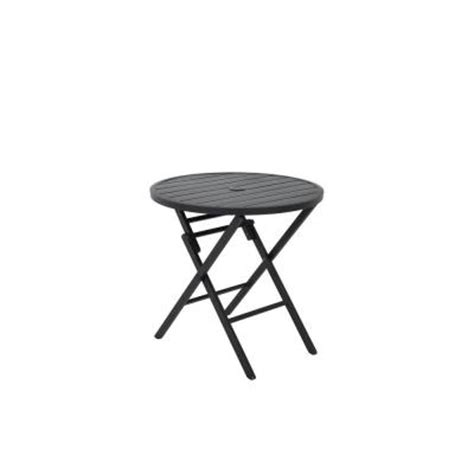 Martha Stewart Patio Table Martha Stewart Living Franklin Park Folding Patio Bistro Table Ftm10181 The Home Depot