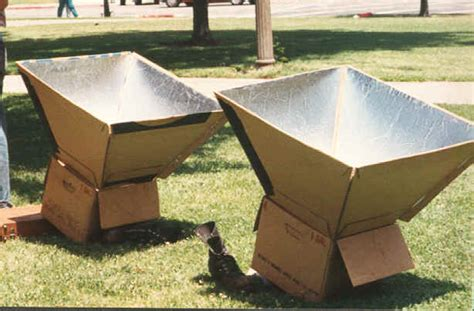 Window Boxes Plans - how to make a solar oven science project ideas