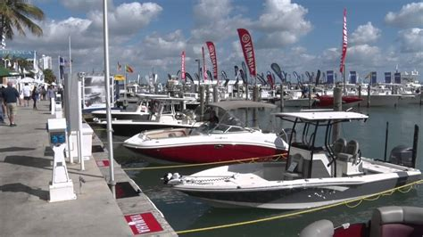 basin view boat r new location for miami boat show 2016 virginia key miami