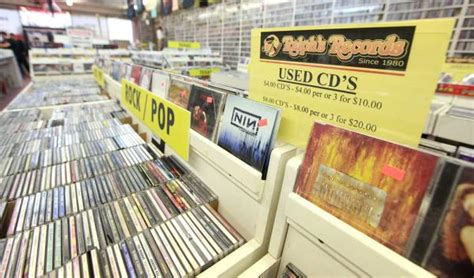 Records Lubbock Cd One Business Hanging On Despite Changes Caused By The Click Lubbock