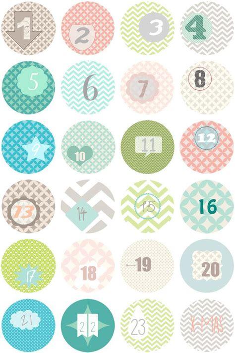 Adventskalender Sticker Ausdrucken by 220 Ber 1 000 Ideen Zu Adventskalender Zahlen Auf