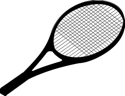 Promo Raket Tenis Silhouetee free vector graphic racket racquet tennis black free image on pixabay 296859