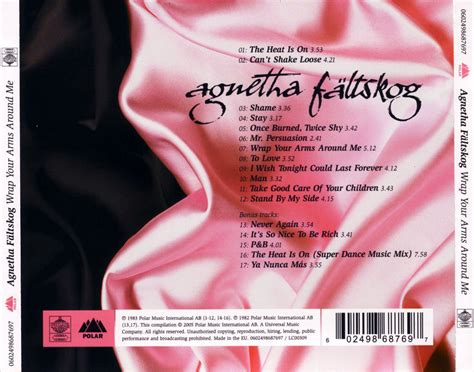 agnetha faltskog my best your whole record collection and wish list abbachat