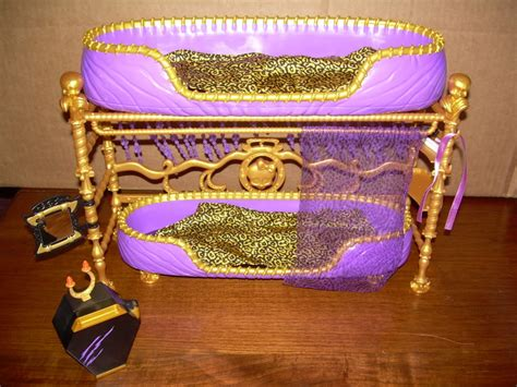 monster high bunk bed monster high clawdeen wolf doll room to howl bunk bed ebay