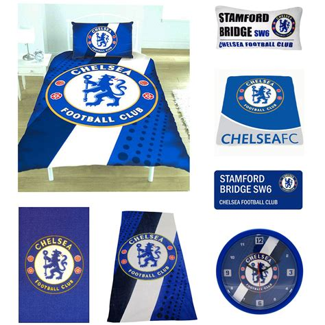Chelsea Bedroom Accessories by Chelsea Football Bedding And Bedroom Accessories Towels
