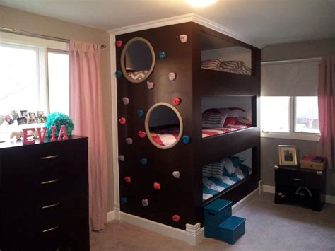 5 beds in one room triple bunk beds home pinterest triple bunk beds